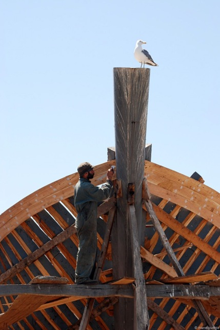 Construint un vaixell de manera artesanal