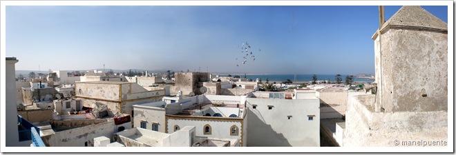 Vista de la Medina des del Riad Lalla
