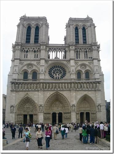 Notre-Dame façana