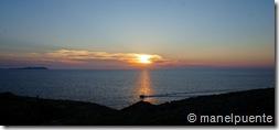 Posta de Sol des de Cap Negret. Eivissa