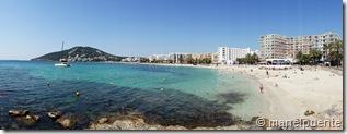 Platja de Santa Eulària. Eivissa