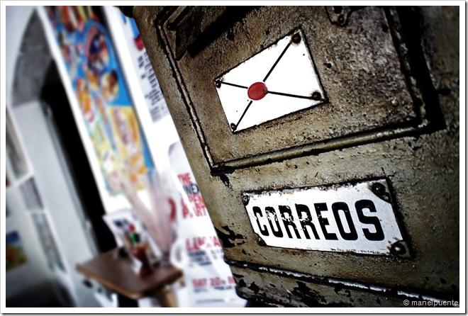 Bústia de correus al bar Anita, a Sant Carles de Peralta. Eivissa.