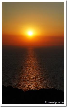 Posta de Sol a Cap Negret. Eivissa