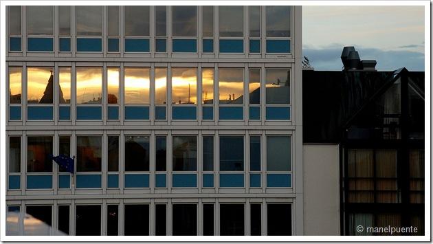 Vistes de Reykjavik des de l'hotel City Center