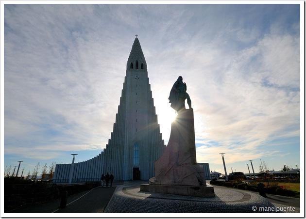 Esglèsia de Hallgrímskirkja a Reykjavik