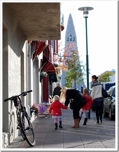 carrer Skólavördustigur de Reykjavik