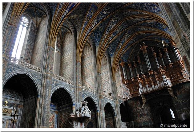 interior Santa Cecilia Albi