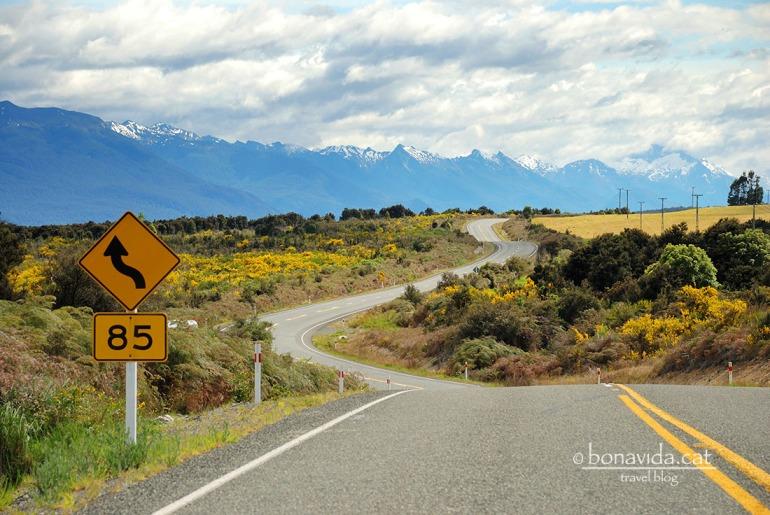 nova zelanda roads