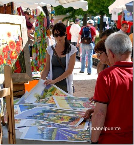Poble de Bonnieux. La Provence, França