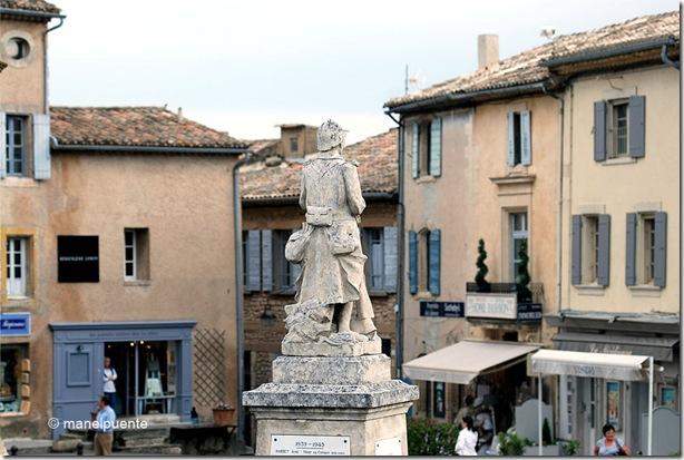 Poble de Gordes. La Provence, França