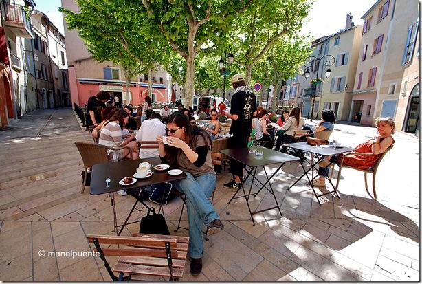Place Marcel Pagnol. Manosque, La Provence. França