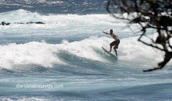 Cabalgando sobre las olas