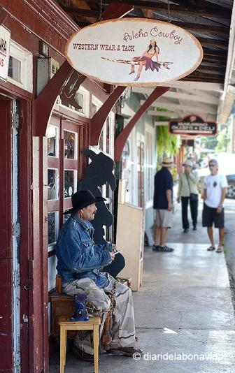 Makawao és un poble de cowboys