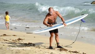 Mimando las tablas de surf
