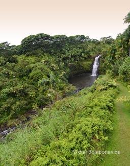 Catarata Kulaniapia, Hawai'i o Big Island