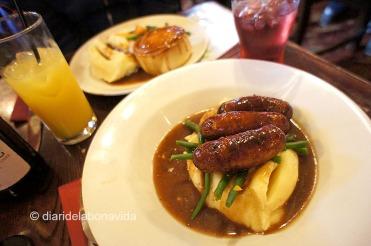 Un bon english breakfast no pot faltar...