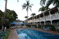 Hotel i piscina