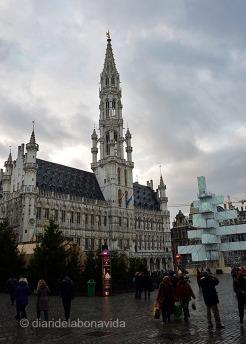 L'hotel de Ville a la Grand Place