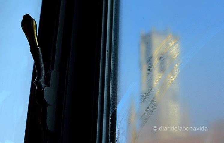 La torre Belfort vista desde nuestra habitación