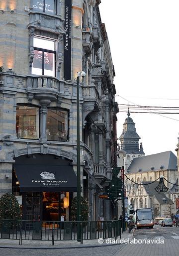 La botiga de Pierre Marcolini a Grand Sablon