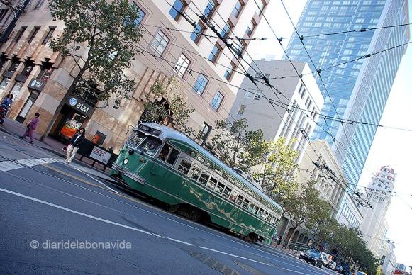 San Francisco també té tramvies que funcionen amb electricitat