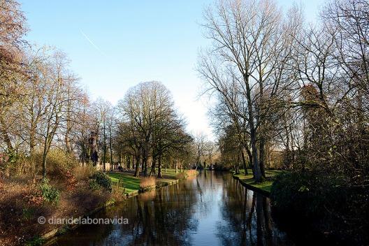 Canales y parques, una preciosa combinación
