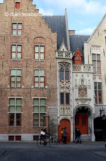 Casas típicas de Brujas