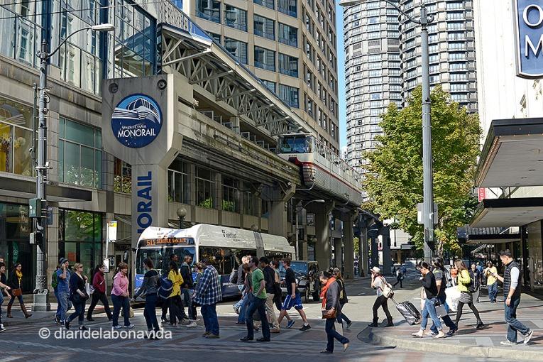 El monorraíl de Seattle