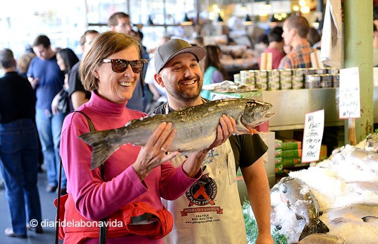 Els peixaters són la delícia dels turistes