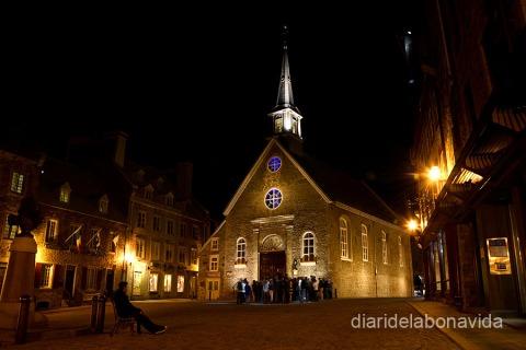 Église Notre-Dame des Victoires, la iglesia más antigua del Canadá
