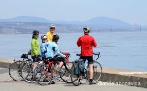 Son muchos los ciclistas que encontramos