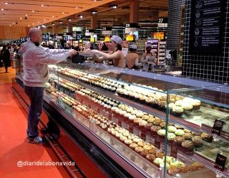 Increíble la cantidad de supermercados que hay en toda la ciudad