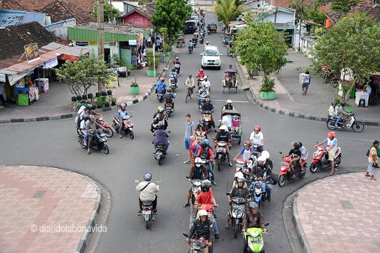 Hay que estar muy atentos al cruzar la calle