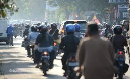 Las motos son las reinas del asfalto en Indonesia