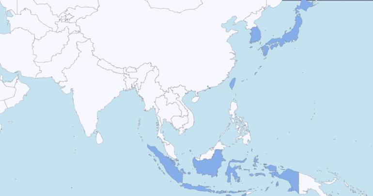 mapa visita asia 2