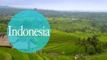 iconos ciudades indonesia