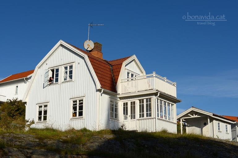 Una de las casas intercambiadas. Suecia