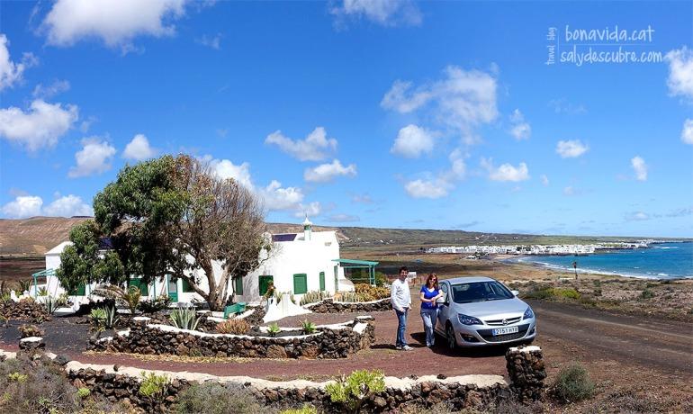 Casa de intercambio en Lanzarote. Disfrutando del sol y playas
