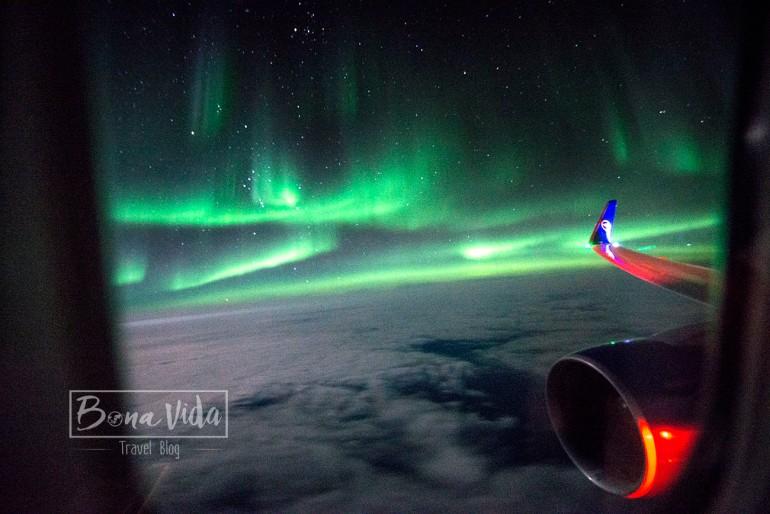aurores boreals vol