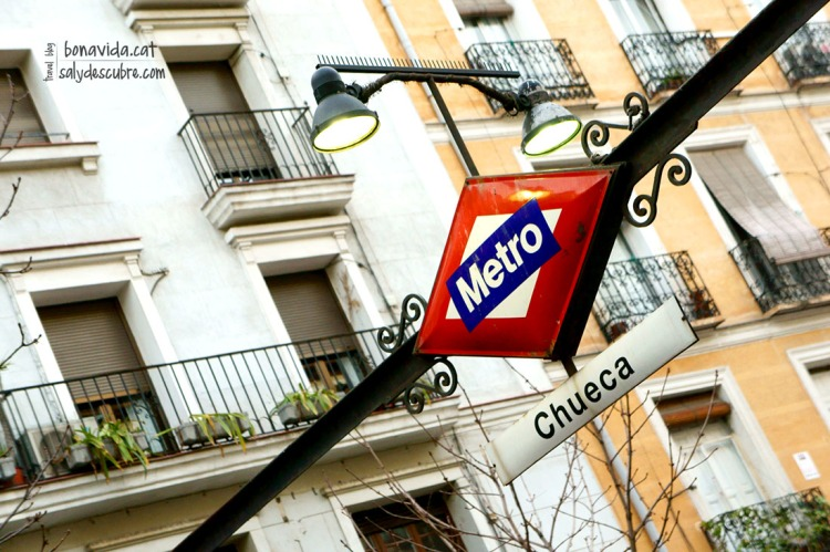 El metro es ideal para desplazarse por Madrid
