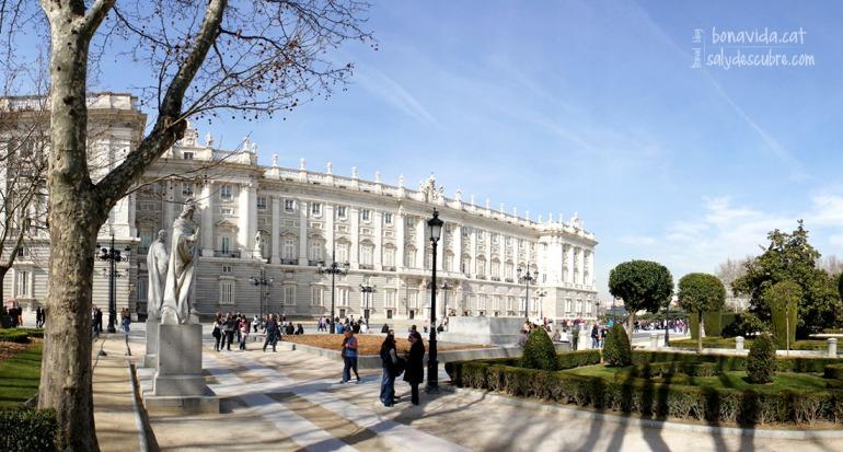 Jardines y Palacio Real