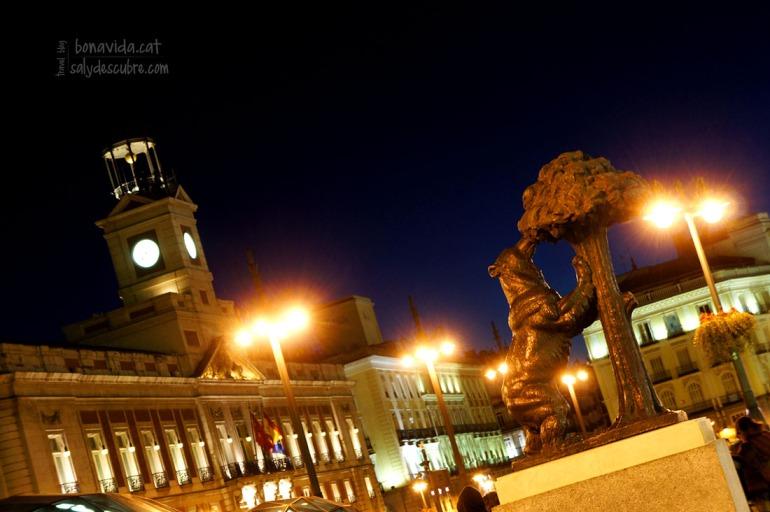 El oso y el madroño son el símbolo de esta ciudad