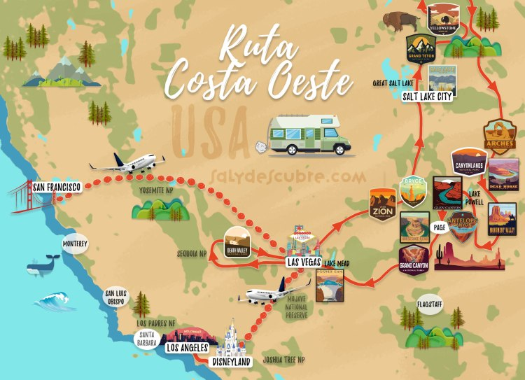 mapa ruta costa oest 02 esp final